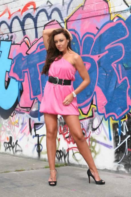 Michelle Pink Dress